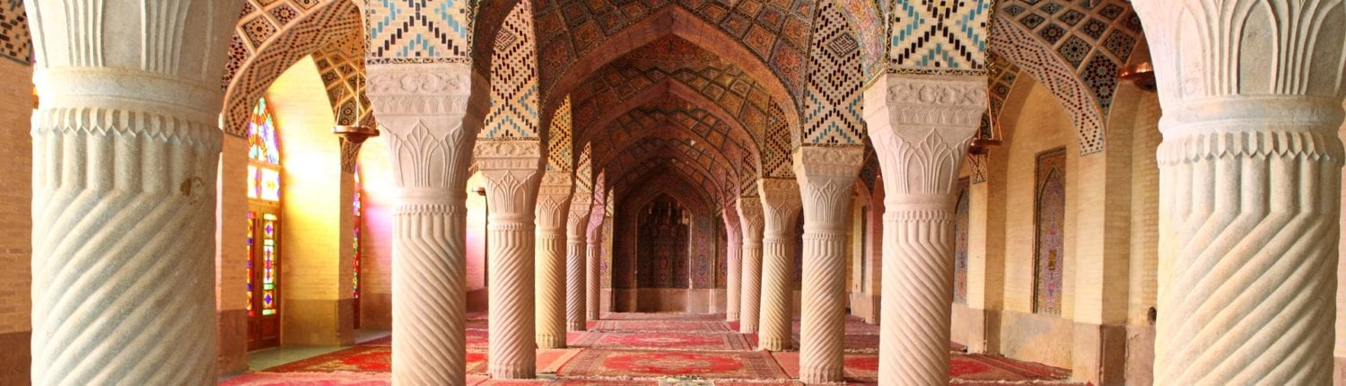 Nasir ol Molk Mosque in Shiraz, Iran.