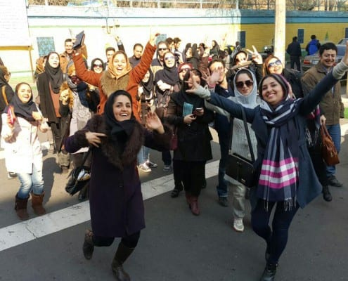 In Iran, hundreds of students took the final exams to become licensed tour guide. The test is a crucial factor in an applicant's to become official and licensed tour guide of Iran Cultural Heritage, Handcrafts and Tourism Organization.