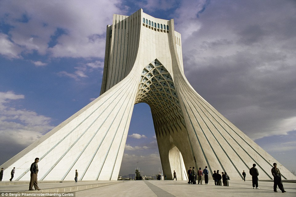 Tehran's Azadi Tower (also known as the Liberty Tower) is one of its most iconic structures, also marking the west entrance to the city