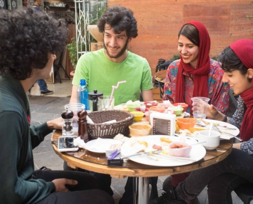 Young Iranians have high hopes for the future