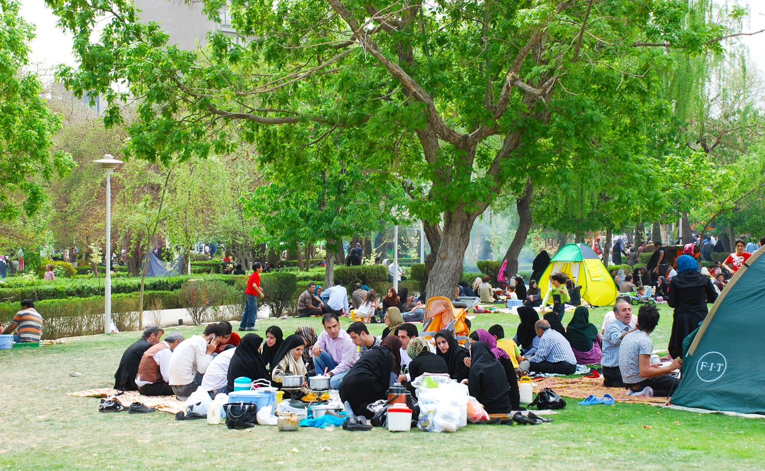 How does Tehran look like during Iranian Nowruz (11)