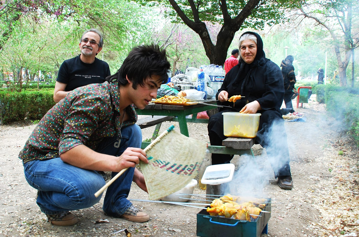 How does Tehran look like during Iranian Nowruz (12)