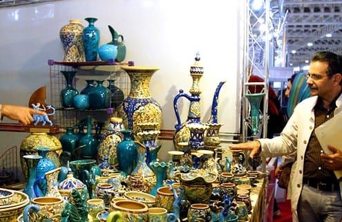 Iranian Handicrafts Exhibition in Kashan