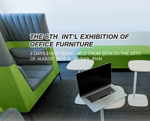 The 6th int'l Exhibition of Office Furniture