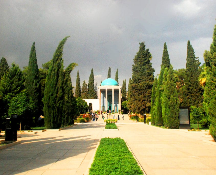 Tomb of Saadi or Saadiyeh, and the Garden Around the Tomb