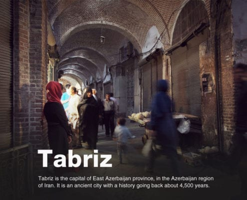 Tabriz, is the most populated city in the Iranian Azerbaijan, one of the historical capitals of Iran, and the present capital of East Azerbaijan Province.