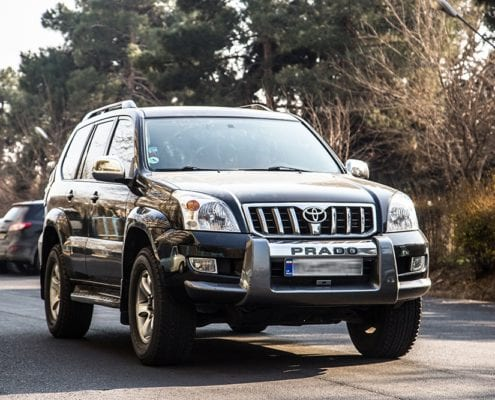 Toyota Landcruiser Prado - Car Hire Iran