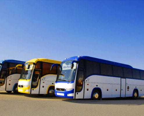 Volvo Bus 41 Seater - Car Hire Iran