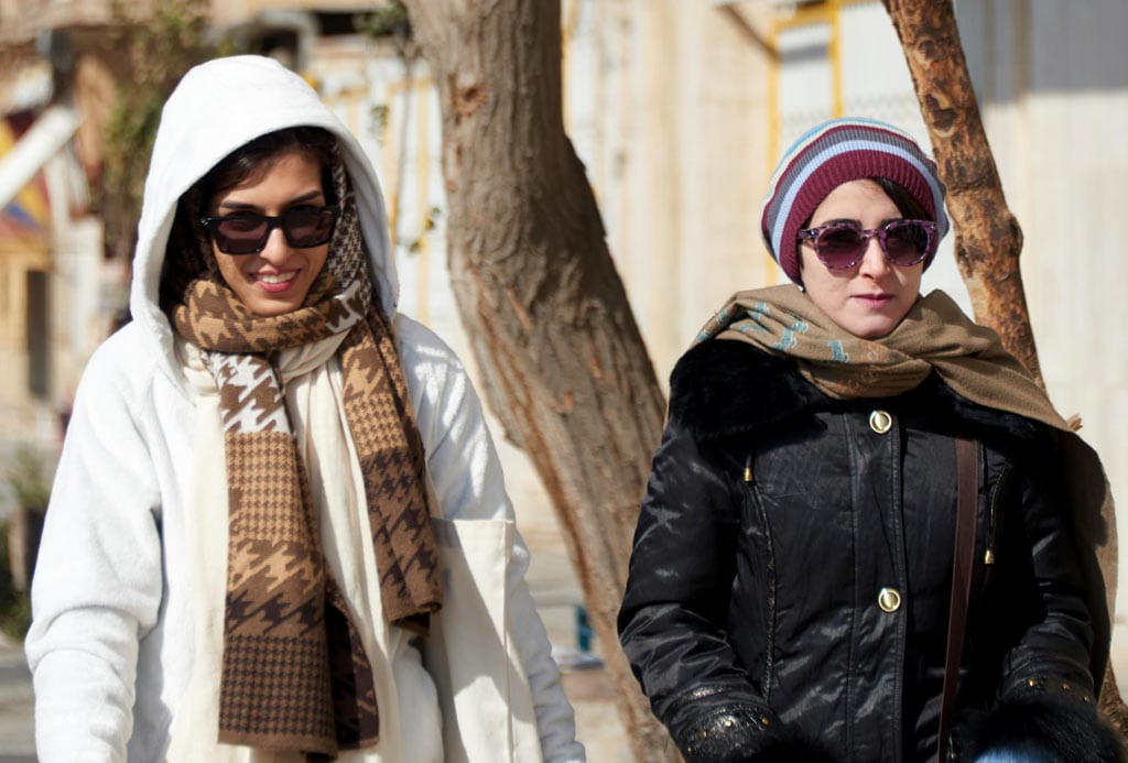 Cold weather clothing in Iran