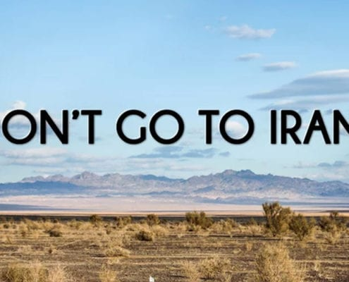 Don't go to Iran