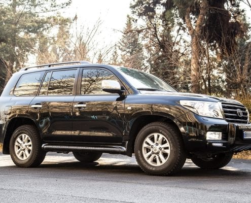 Toyota land cruiser 2015 - Car Hire Iran