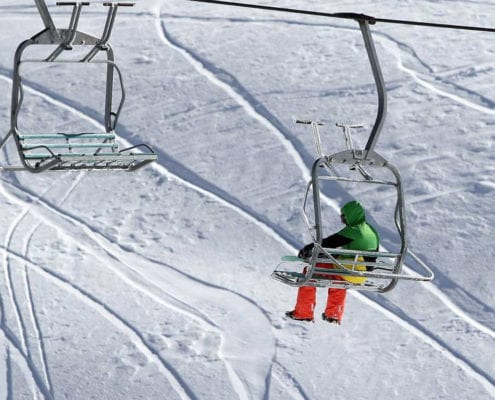 7 Iran Day ski/swim combo tour