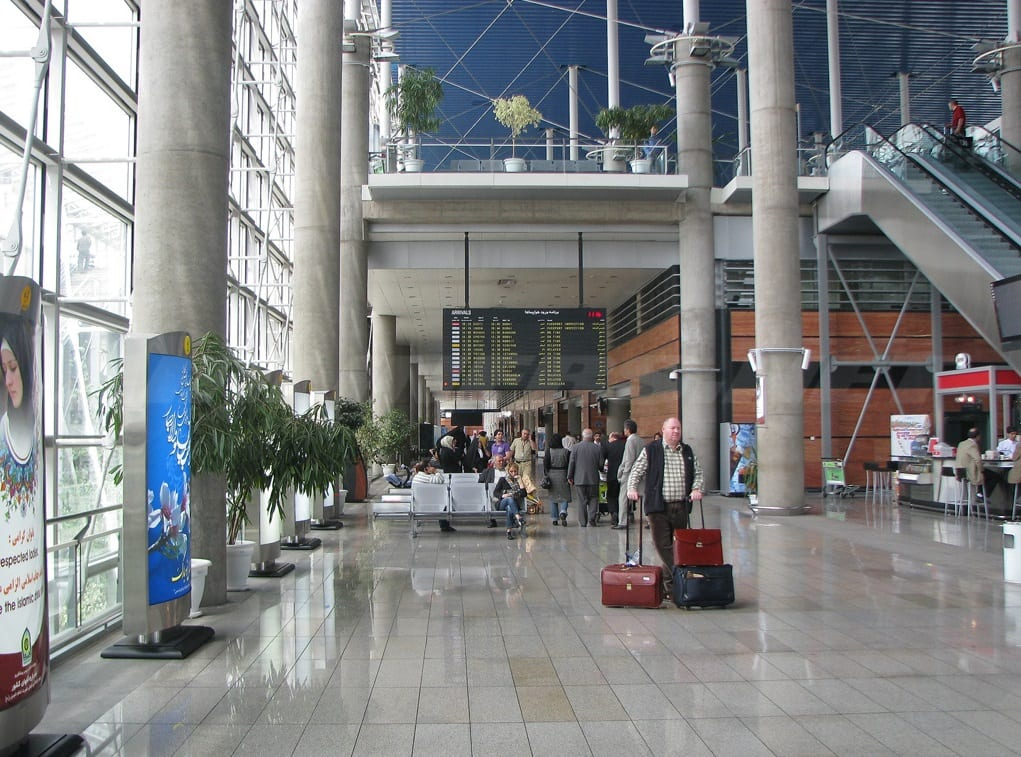 Tehran Imam Khomeini International Airport Surfiran