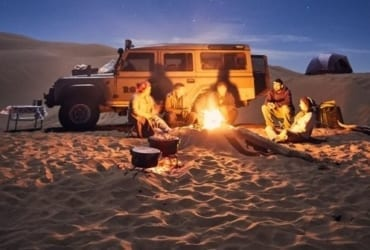 Iran-Desert - Rig-e Jen expedition