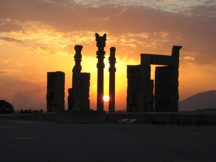 Persepolis or Pārsa, also known as Takht-e-Jamshid, was the ceremonial capital of the Achaemenid Empire.