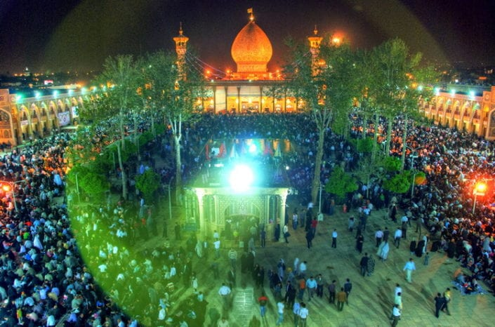 Shah-e Cheragh Shrine, Shiraz, Iran