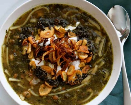 The Noodle Ash (Pottage or Soup) from Isfahan will give you a journey into the past