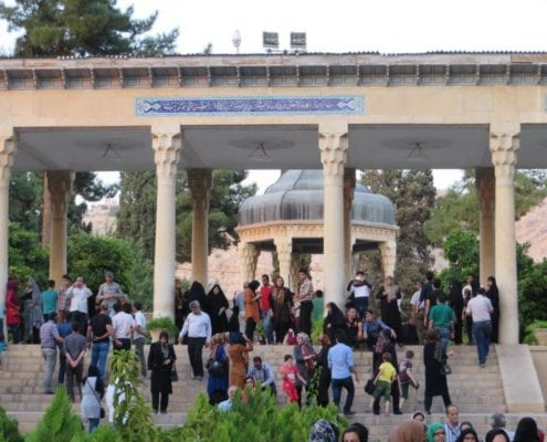 Tomb of Hafez, Shiraz, Iran - Iran tourism