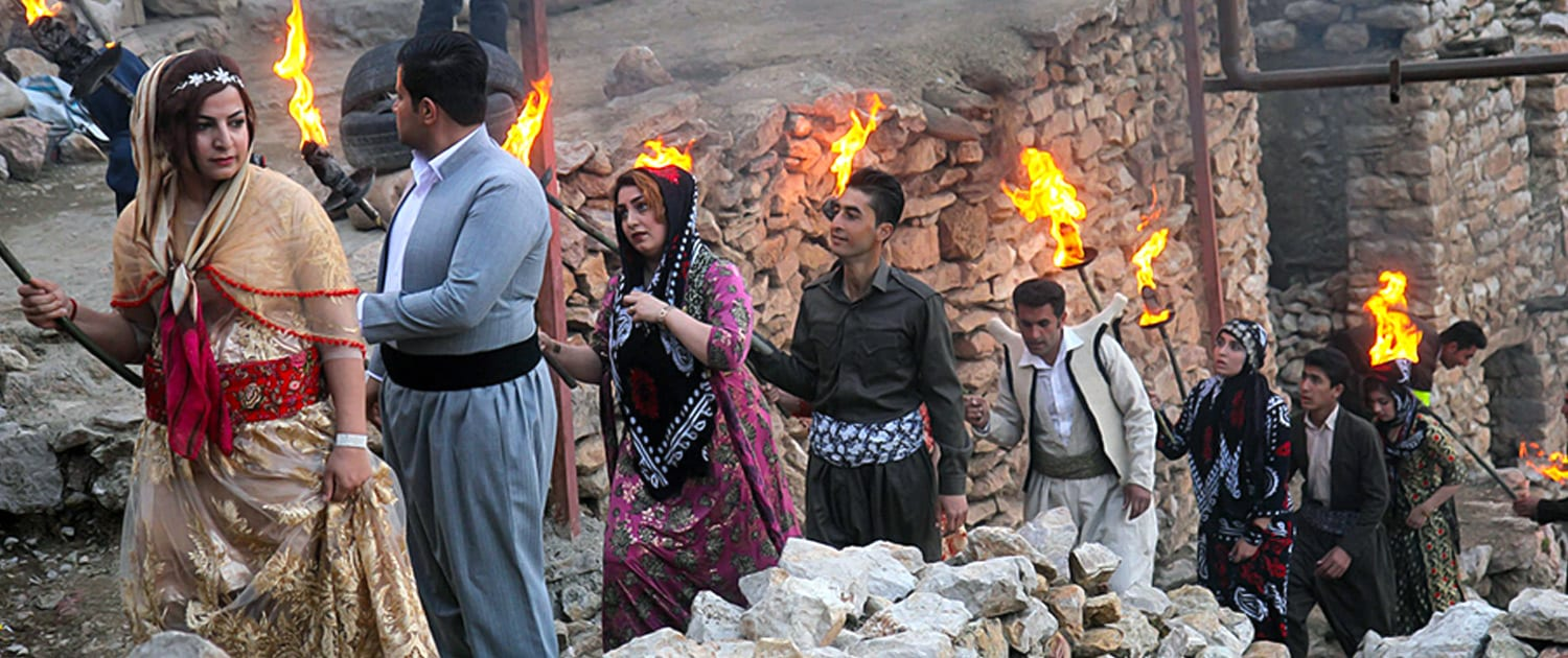 Nowruz Rituals in the Iranian-Kurdish village of Palangan - SURFIRAN
