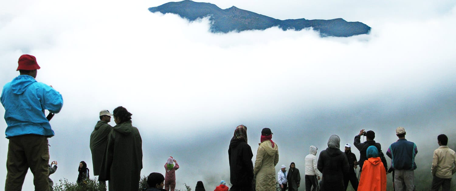 Travel To The Iran's Jangal-e Abr (Jungle of Clouds)