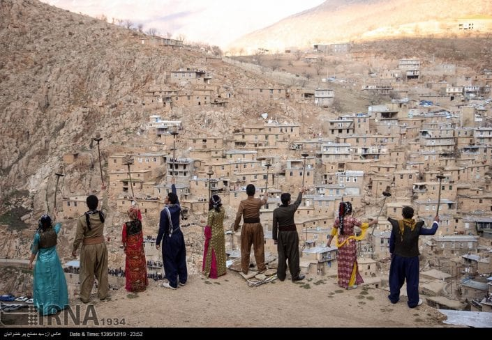 Nowruz Rituals in the Iranian-Kurdish village of Palangan