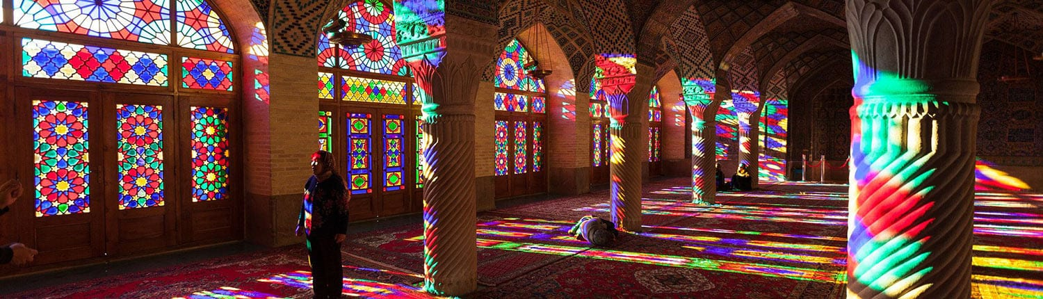 The Nasir al-Mulk Mosque, also known as the Pink Mosque, is a traditional mosque in Shiraz, Iran.