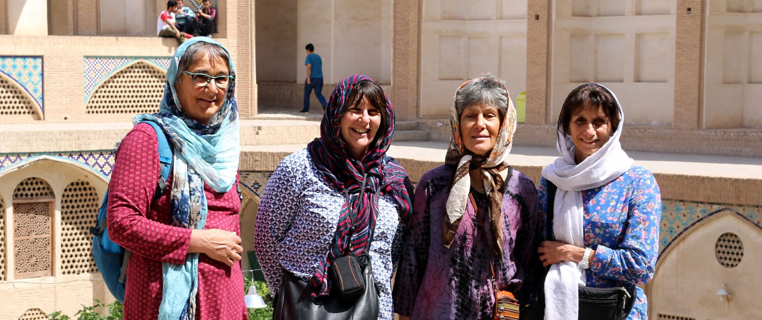 Tourists in Iran