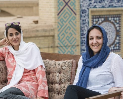Iran is one of the friendliest places in the world, if not the friendliest.
