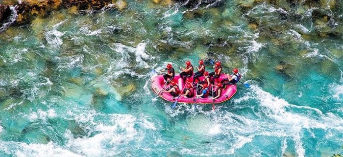 Destinations For River Rafting In Iran