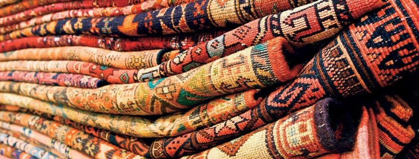 Persian carpets and rugs of various types were woven in parallel by nomadic tribes, in village and town workshops, and by royal court manufactories alike. As such, they represent different, simultaneous lines of tradition, and reflect the history of Iran and its various peoples.