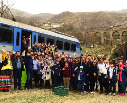 The Trans-Iranian Railway train tour