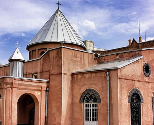 Saint Mary Church, Holy Mother of God Church or Surp Mariam Asdvadzadzin Church is an Armenian Apostolic church in Tabriz