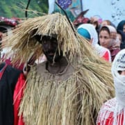 The bride of flowers; a Gilani ceremony to welcome the spring