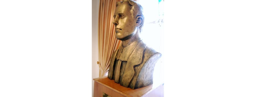 Howard Baskerville bust in Tabriz