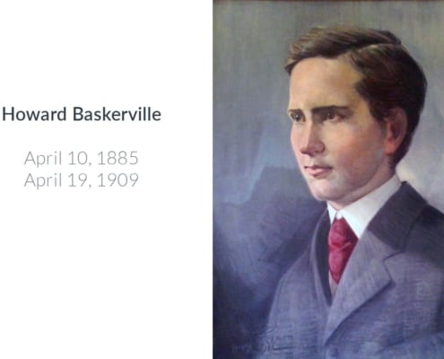 Howard Baskerville's Face Portrait