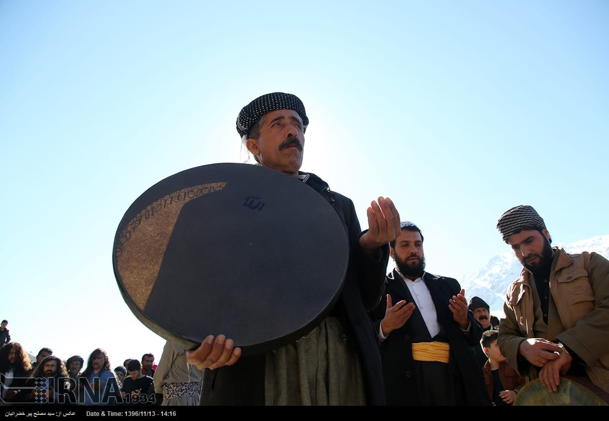 Pir Shalyar ceremony in Kurdistan of Iran
