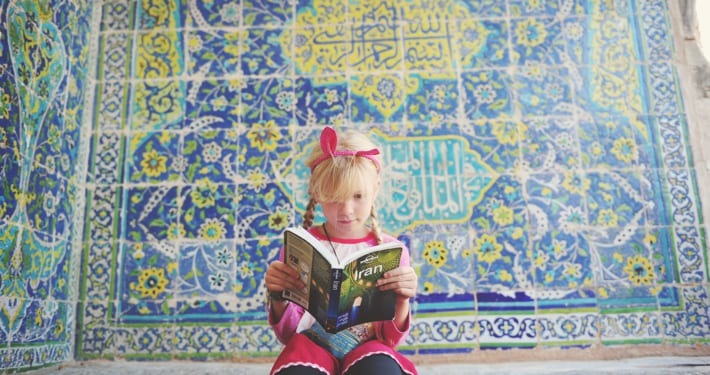 Travel with kids to Iran