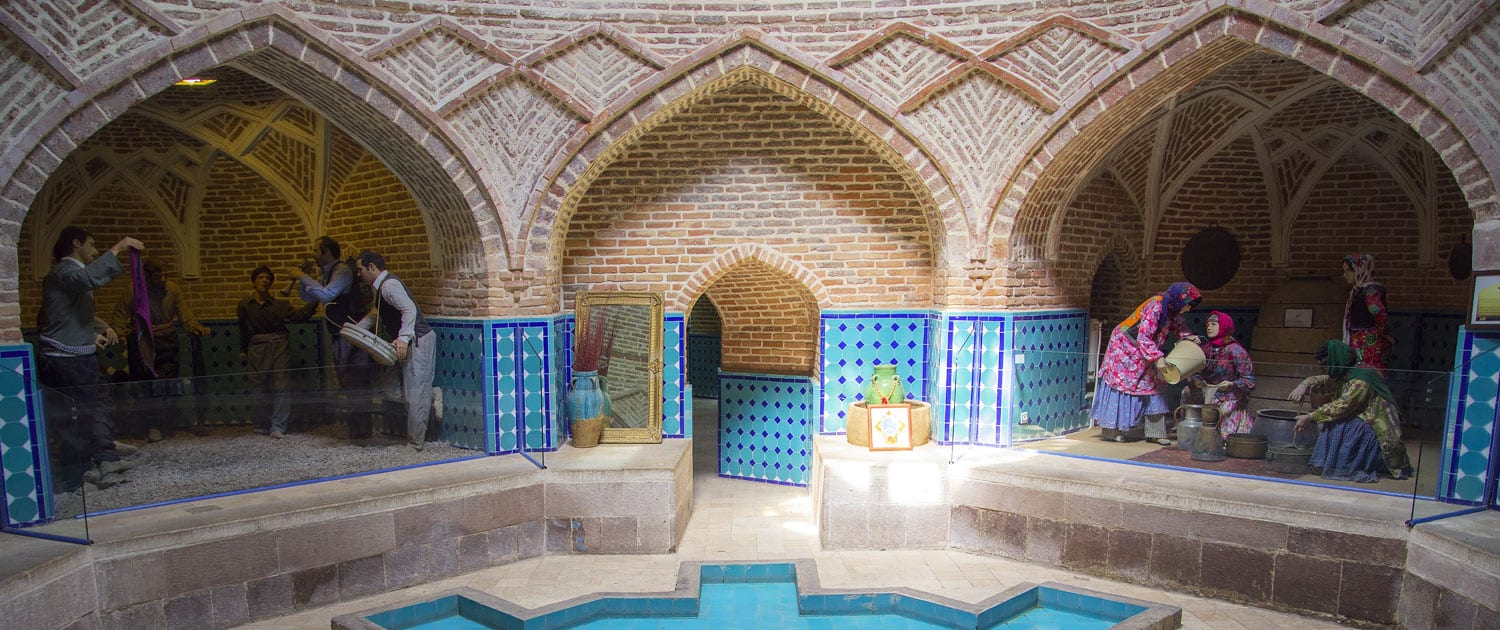 Qajar Bath in Qazvin