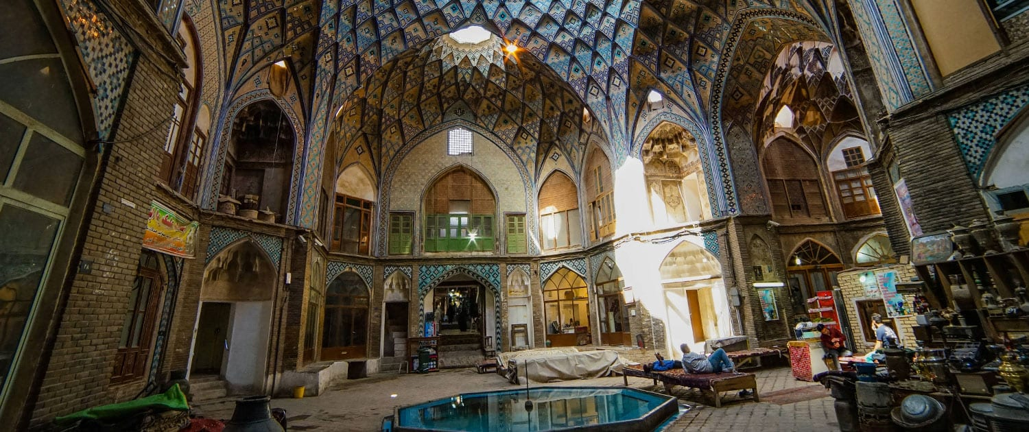 Traditional Bazaar of Kashan