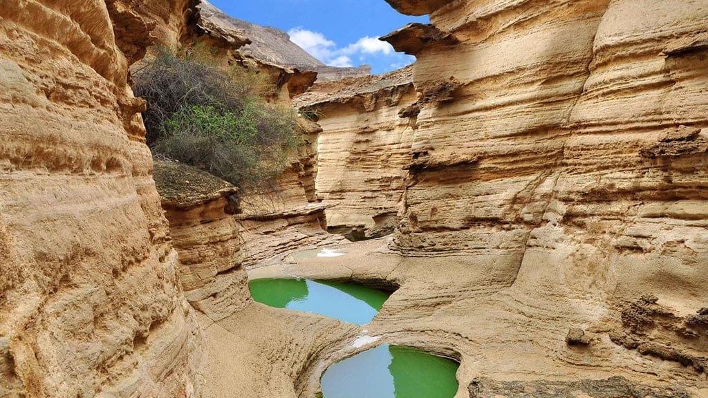 Chahkooh Canyon in Qeshm Island