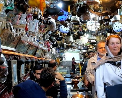 The History of Tea in Iran