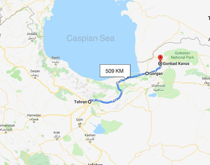 Spectacular Golestan province and Gorgan train tour