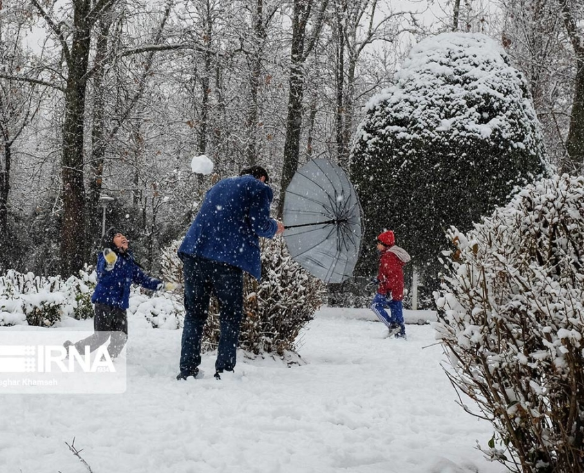First Snow of Winter 2020 Arrives in Tehran
